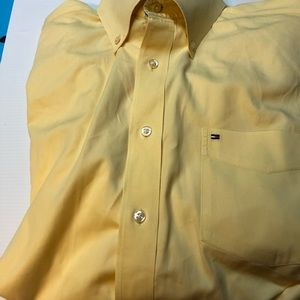 Gold Tommy Hilfiger large casual button down